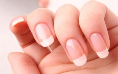Adult biting nail