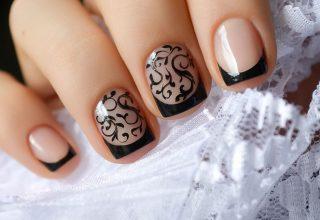 Victorian nail design.