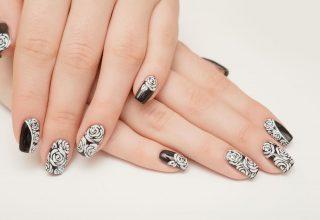Elegant Nail Art.