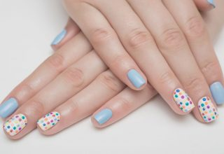 Polka dots in all colors.