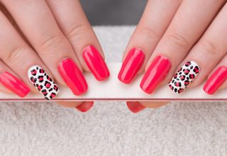 Pink and leopard print.