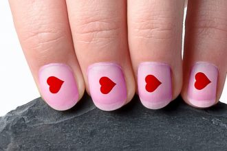 Nails for Valentines.