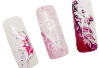 Pink Acrylics.
