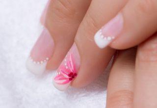Pink blooms.