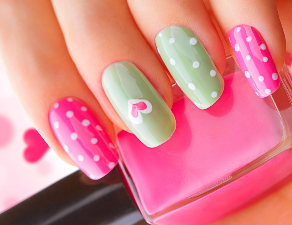 Cute Nail Designs. Give Your Inner Girl the Brush and Let Her Have a Go.