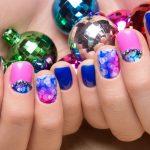 Pretty nail design.
